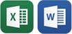 高い操作性を実現(Word・Excel)
